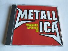 METALLICA  MANDATORY METALLICA 03  CD ALBUM SAMPLER PROMO ONLY CD 11 TRACKS NEW