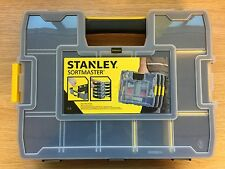 Stanley 1-97-483 Stackable Sortmaster Organiser Parts Screws etc Compartment Box