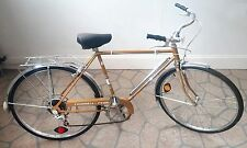 Vintage Columbia Tourister V 5-Speed Bicycle Gold With Chrome Frame Pump & Rack