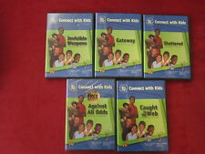 Lot of 5 Connect with Kids DVD's Secret Life of Kids Series