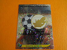 31 BADGE ECUSSON  SOUTH AFRICA  PANINI FOOTBALL FIFA WORLD CUP 2010 COUPE MONDE