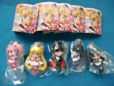 Sailor Moon Swing 3  Key chain  Figure Set of 5 new  unopend