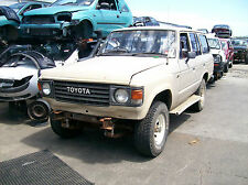 WRECKING TOYOTA LANDCRUISER 60 SERIES WAGON MANUAL $1 WHEEL NUT ONLY FOR PARTS