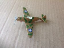 Vintage Die Cast Flying Tiger P-40 Fighter Airplane WWII Excellent Cond. 14+