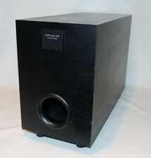 Pioneer HTP100-SW Subwoofer 70W 8Ohms Black Vinyl Laminated Wood Tested Working
