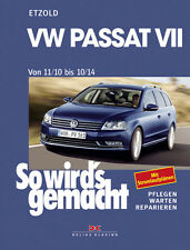 VW PASSAT 7 2010-2014 MANUAL DE REPARACIONES SO WIRDS GEMACHT 157 MANTENIMIENTO
