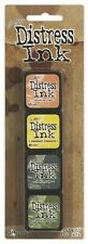 TIM HOLTZ Ranger DISTRESS Mini Ink Kits 10 Tattered Squeezed Iced Bundled Sage