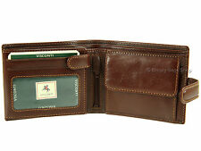 Visconti Mens Top Grade Leather Wallet For Cards Notes & Coins In Gift Box - MZ5