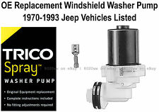 Wiper Washer Pump OE Replacement Select 1970-1993 Jeep Vehicles - 11-509