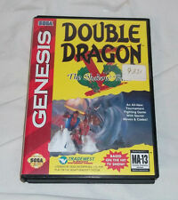 DOUBLE DRAGON V THE SHADOW FALLS SEGA GENESIS GAME COMPLETE WITH BOX & MANUAL 5