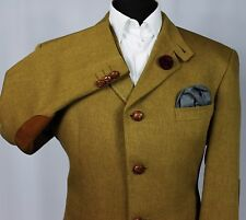 Blazer Jacket DAKS Signature Country Shooting Wool & Silk 42R EXCEPTIONAL 341