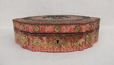 ancienne boite coffret confiserie / maison Boissier à Paris 19ème / candy box