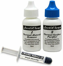 Arctic Silver 5 Thermal Compound 3.5 G Tubo (as5-3.5 g) & ArctiClean (Acn-60ml)