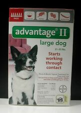 ADVANTAGE II for Large Dogs 21-55 lbs (6 PACK)   !!! US EPA APPROVED !!!