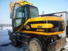 JCB JS130W MINI ESCAVATORE COMPLETO DECALCOMANIA CON SAFTY SPIA