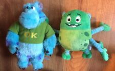 "Disney Store Monsters University Sully with OK Shirt Plush 9"" And 6 Armed Monste"
