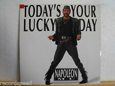 "★★ 12"" Maxi - NAPOLEON MC - Today´s Your Lucky Day (Lucky Mix) 6:12 min - BCM"