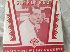 "Simply red - ev'ry time we say goodbye - excellent condition uk 12"" vinyl"
