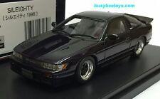 1/43 HI STORY HS118PP NISSAN S13 SILEIGHTY SIL80 BASED ON SILVIA 180SX model car