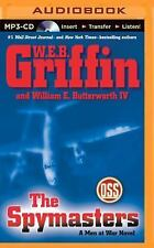 W E B Griffin THE SPYMASTERS Unabridged MP3-CD 12 Hrs *NEW* FAST 1st Class Ship!