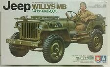 Tamiya 1/35 scale model kit, Willy's Jeep, MB 1/4 ton 4×4 truck