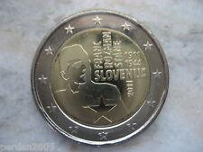 SLOVENIA 2011 2 EURO FDC UNC 100 ANNIV FRANC ROZMAN SLOWENIEN SLOVENJIA