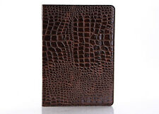 For iPad 2 3 4 Wake Sleep Crocodile Pattern PU Leather Smart Stand Case Cover