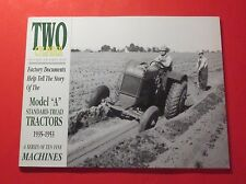 "TWO-CYLINDER MAGAZINE NOV/DEC/2000...MODEL ""A"" STANDARD-THREAD TRACTORS"