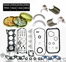 96-00 Honda Civic Del Sol 1.6 SOHC D16Y D16Y5 D16Y7 D16Y8 *RE-RING* KIT
