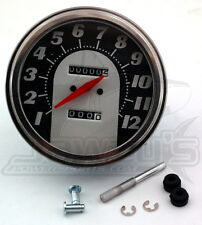 5in. Dash Mount 2:1 Speedometer Drag Specialties  72767M-BX33