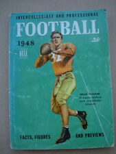 1948 Dell Intercollegiate and Professional Football Preview Book Doak Walker