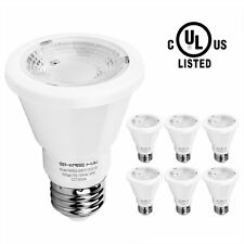 PAR20 LED Bulb 50W Equivalent E26 Flood Lights Bulbs 5000K Daylight White 6-Pack
