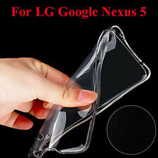 New Ultra-Thin Transparent Clear Soft TPU Case Cover Skin For LG Google Nexus 5