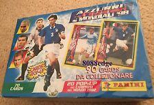 1998 PANINI AZZURRI WORLD CUP FOOTBALL/SOCCER TRADING CARD UNOPENED BOX - RARE