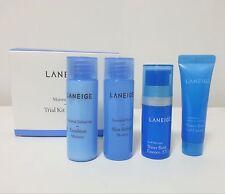 Laneige Moisture Trial Travel Samples Kit (4pcs) Skin Emulsion Essence Cream