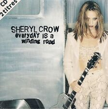 CD 2 TITRES--SHERYL CROW--EVERYDAY IS A WINDING ROAD