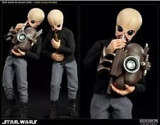 Sideshow 1:6 Scale Cantina Band Nalan Cheel Tedn Dahai Star Wars Figures Set 2