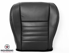 1999 Ford Mustang Cobra SVT -Driver Side Bottom Leather Seat Cover Black