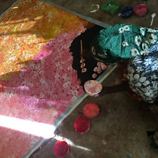 """ABORIGINAL ART PAINTING by POLLY NGALE (NGALA) """"BUSH PLUM DREAMING"""" Video, WIP"""