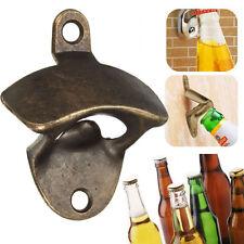 Bronze Wall Mount Open Wine Beer Soda Glass Cap Bottle Opener Kitchen Bars Gift