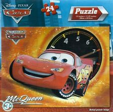 NEW ~ DISNEY ~ CARS ~ LIGHTNING MCQUEEN ~ 24 PIECE PUZZLE