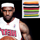 Men Women Cotton Sport Sweat Sweatband Headband Yoga Gym Stretch Head Band Hair