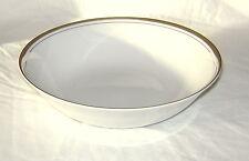 """Vtg Royalton China 9"""" Serving Bowl Golden Elegance Translucent Porcelain Lot A"""