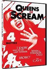 Queens Of Scream: 4 Movie Thrill-Fest (2016, REGION 1 DVD New)