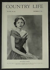 Mary Mollie Makins philipps Cooper Baron Sherfield 1956 1 Page Photo Study
