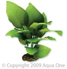 Aqua One A1-24113 Silk Plant Amazon Sword Radicans 20cm For Freshwater Aquarium