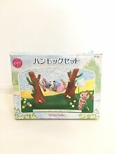 Japan Sylvanian Families (Calico Critters US) Hammock & Play Set Complete in Box