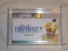 NEW Final Fantasy V Super Famicom Game VGA 90+ NM+/MT GOLD SFC SNES Japan ff 5