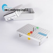1Dental Bur Disinfection Box Resistant To High Temperature And Pressure 120Holes
