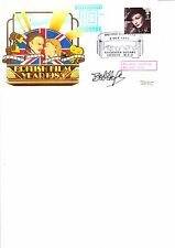 SIGNED BY BOB HOPE BRITISH FILM YEAR 1985 FDC.